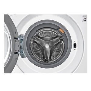 Lg 2 6 Cu Ft Ventless Combination Washer And Dryer White