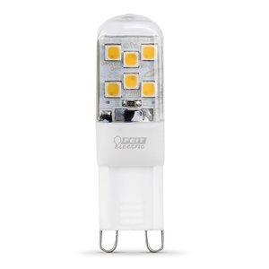 Feit Electric 25-Watt/200 Lumens G9 Pin Base Dimmable Wedge Wedge LED Light Bulb (1-Pack)