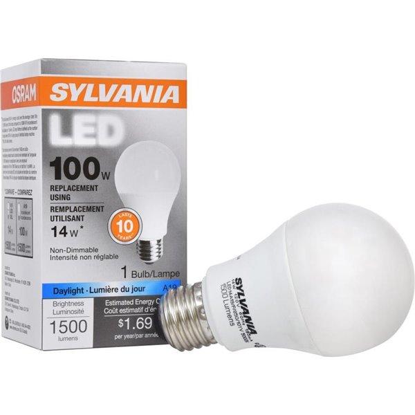 Sylvania 100 Watt Medium Base E 26 A19 Led Light Bulb 1 Pack Lowe S Canada