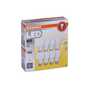 SYLVANIA 60-Watt/800 Lumens Medium Base (E-26) A19 LED Light Bulb (1-Pack)