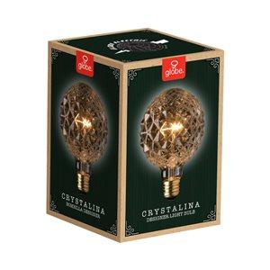 Globe Electric 40-Watt/220 Lumens Medium Base (E-26) Dimmable Edison G Incandescent Light Bulb (1-Pack)