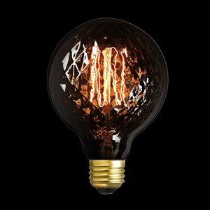 Globe Electric 40-Watt/140 Lumens Medium Base (E-26) Dimmable Edison G Vintage Light Bulb (1-Pack)