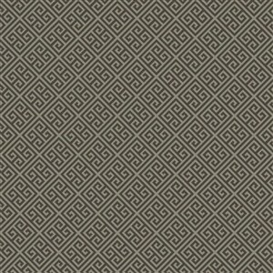 York Wallcoverings Greek Key Grey Strippable Non-Woven Paper Prepasted Classic Wallpaper