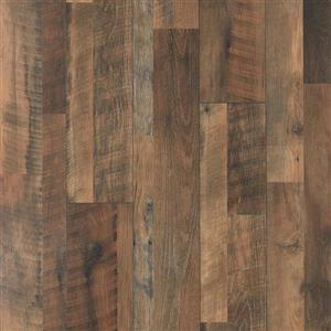 Pergo Roadhouse Oak 7.48-in W x 3.93-ft L Smooth Wood Plank Laminate Flooring