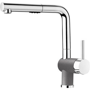 BLANCO Posh One-Handle Pull-Out Traditional Kitchen Faucet