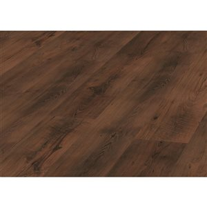 Kronotex Raven Ridge Antique Chestnut 7.4-in W x 4.51-ft L Embossed Wood Plank Laminate Flooring