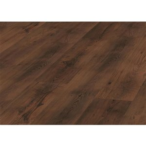Kronotex Raven Ridge Antique Chestnut 7.4-in W x 4.51-ft L Embossed Wood Plank Laminate Flooring
