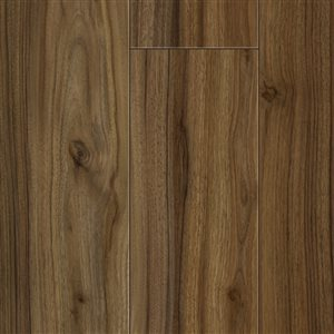 Kronotex Raven Ridge Vintage Walnut 6.18-in W x 4.23-ft L Smooth Wood Plank Laminate Flooring