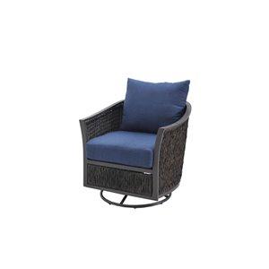 allen + roth Ellisview Swivel Glider Chair 2pk