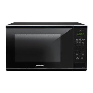 Panasonic 1.3-cu ft 1100-Watt Countertop Microwave (Black)