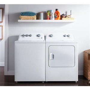 Whirlpool 4.4-cu ft High-Efficiency Top-Load Washer (White)