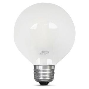 Feit Electric 40-Watt/300 Lumens Medium Base (E-26) Dimmable Globe Filament LED Light Bulb (1-Pack)
