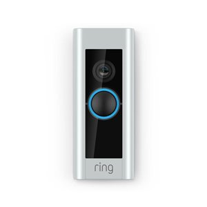 Ring Wireless Video Doorbell Pro with Interchangeable Faceplates