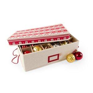 Santa's Bags 2 Tray 3-in Ornament Storage
