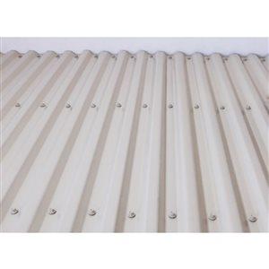 Tuftex DeckDrain 26-in x 10-ft Opaque Tan Under Deck