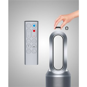 Dyson Pure Hot + Cool Link Air Purifier Fan Heater - White/Silver