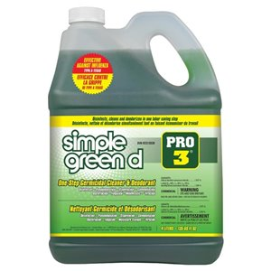Simple Green d Pro 3 One-Step Germicidal and Deodorant Concentrate 135oz