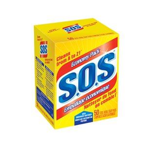 SOS Steel Wool Soap Pads 50-Count