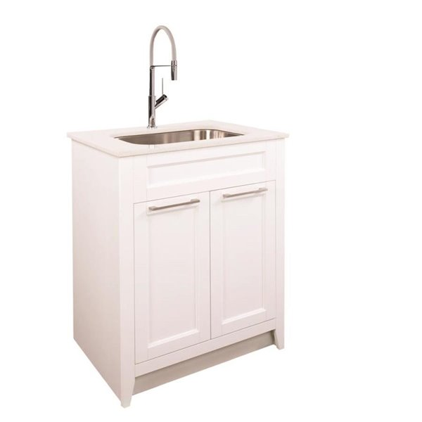 Foremost Warner 29 In Laundry Vanity Combo Lowe S Canada