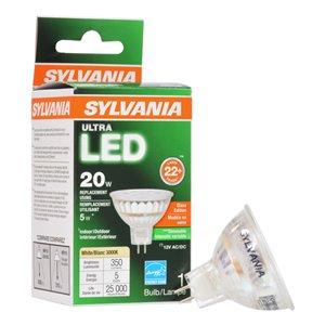 SYLVANIA 50-Watt/350 Lumens G5.3 Base Dimmable Reflector LED Light Bulb (1-Pack)