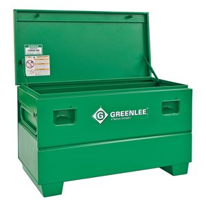 Greenlee 29-in x 25-in 0-Drawer (no drawer slides) Steel Tool Chest (Green)