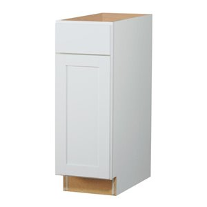 Diamond NOW Arcadia 12-in Base Cabinet with Door and Drawer