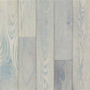 Bruce Oak Hardwood Flooring Sample (Drift Gray)