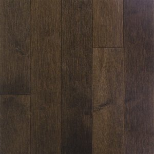 Chalet Collection 3/4-in Thick Coffee Maple Solid Hardwood Flooring (3-1/4-in Wide x Various Lengths)