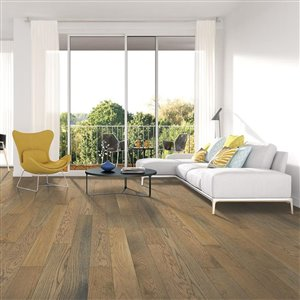 Mohawk 3/4-in Thick Bradford Oak Solid Hardwood Flooring (5-in Wide x Various Lengths)