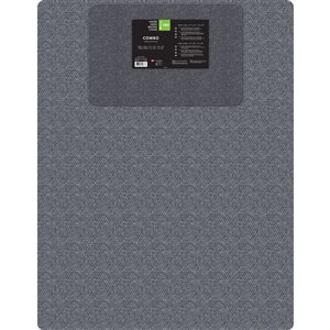 KORHANI 31-in x 44-in Gray Utility Mat