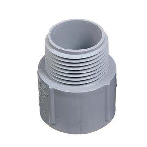 CARLON 1-in Threaded Coupling Schedule 40 PVC Compatible Schedule 80 PVC Compatible Conduit Fitting