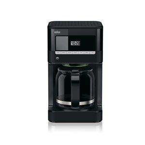 Braun 12-Cup Black Programmable Coffee Maker