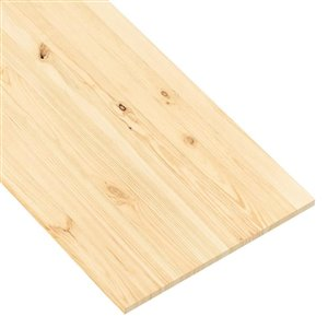 Metrie 20-in x 8-ft Smooth Natural Spruce Wood Wall Panel