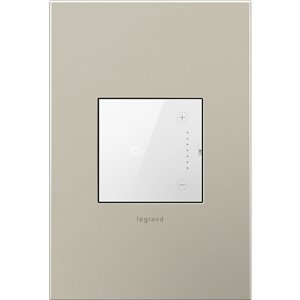 Legrand Adorne 1-Switch 700-Watt Single Pole 3-Way Wireless White Indoor Touch Dimmer Bluetooth Capability