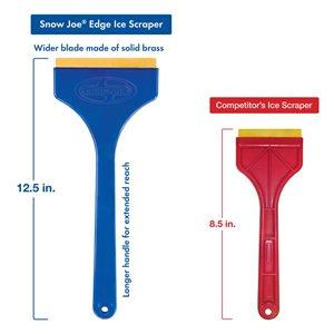 Snow Joe Ice Scraper with Brass Blade