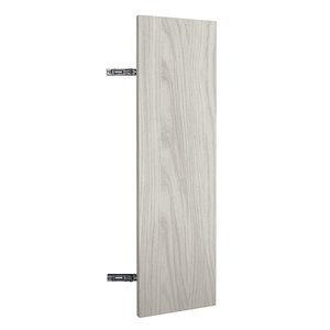 Nimble by Diamond 9 -in W x 24-in H x 1 -in D White Base Cabinet Door