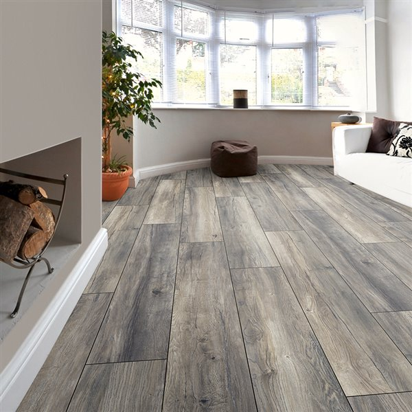 Kronotex Raven Ridge Estate Grey Oak, Estate Living Laminate Flooring