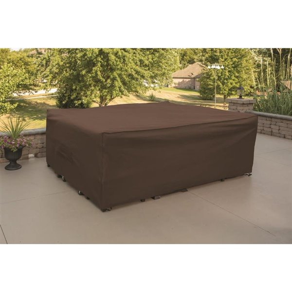 Premium Brown Patio Chair Set Cover, Canada Patio Furniture Covers