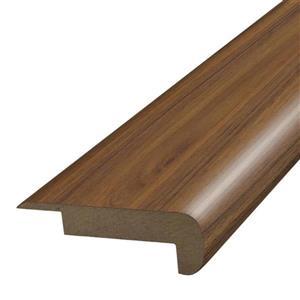 SimpleSolutions 78-in Walnut Laminate Stair Nose Floor Moulding