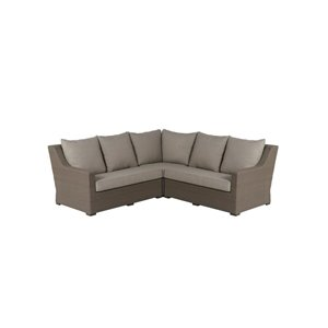 Allen Roth Hawkesbury Patio Sectional Sofa Lowe S Canada