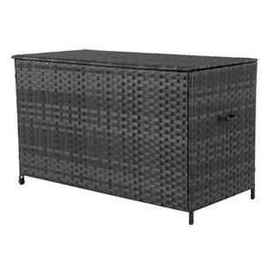 allen + roth 190-gal Wicker Deck Box