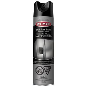 Weiman Products 12 fl oz Stainless Steel Cleaner and Polish