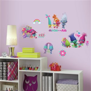 RoomMates 24-Pack Collection Name Kids-General Wall Stickers