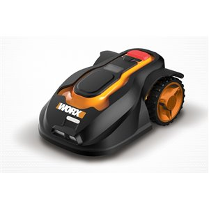 WORX 28-Volt-Volt Brushless Lithium Ion (Li-ion) 22-in Deck Width Cordless Electric Self-Propelled Push Lawn Mower 1