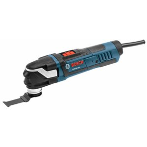 Bosch 30-Piece StarlockPlus Oscillating Multi-Tool Kit Corded with Snap-In Blade Attachement