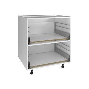 Nimble by Diamond 30-in x 30-in White 2-Drawer Chest Base