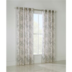 Legacy English Garden 95-in Floral Single Curtain Panel
