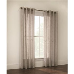 Legacy Princeton 84-in Striped Single Curtain Panel
