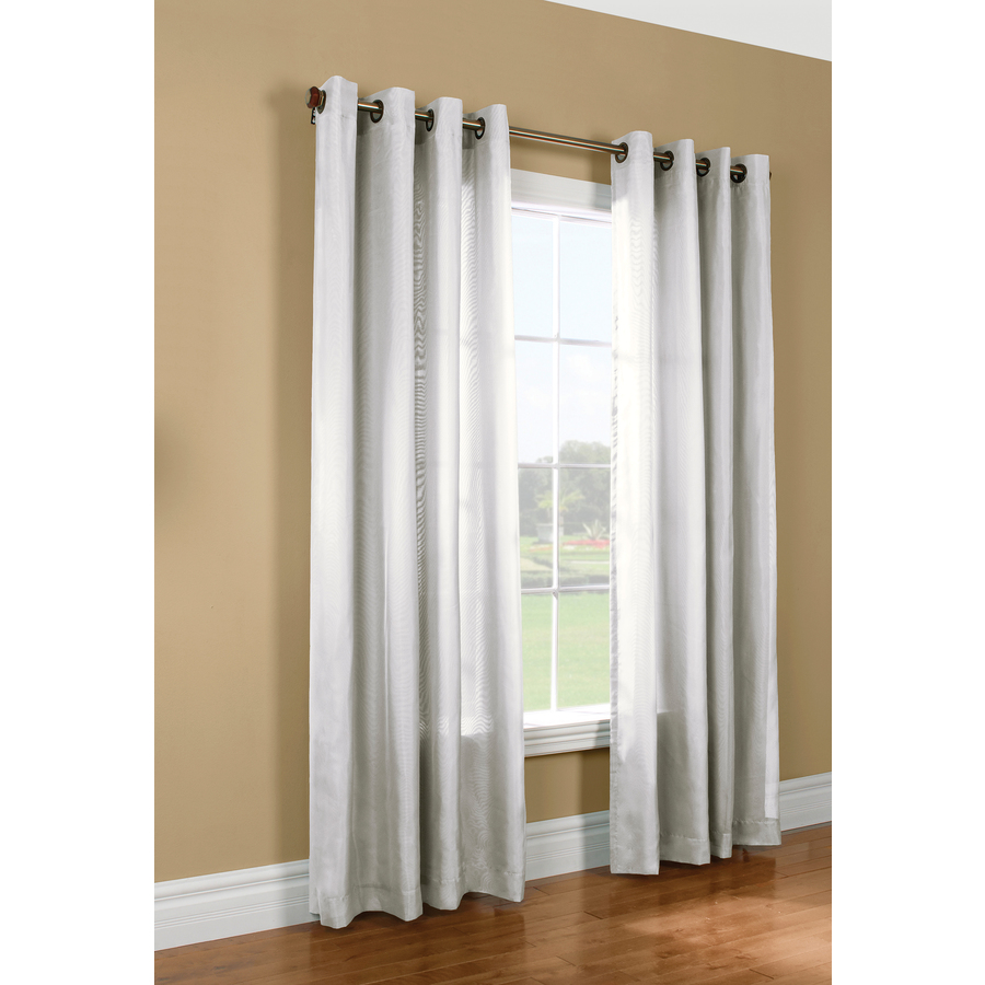 Thermalogic Blackout Liner Curtain Panel White Oh Decor