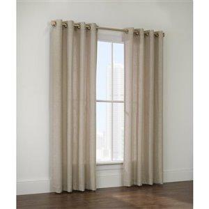 Legacy Sahara 84-in Sheer Single Curtain Panel